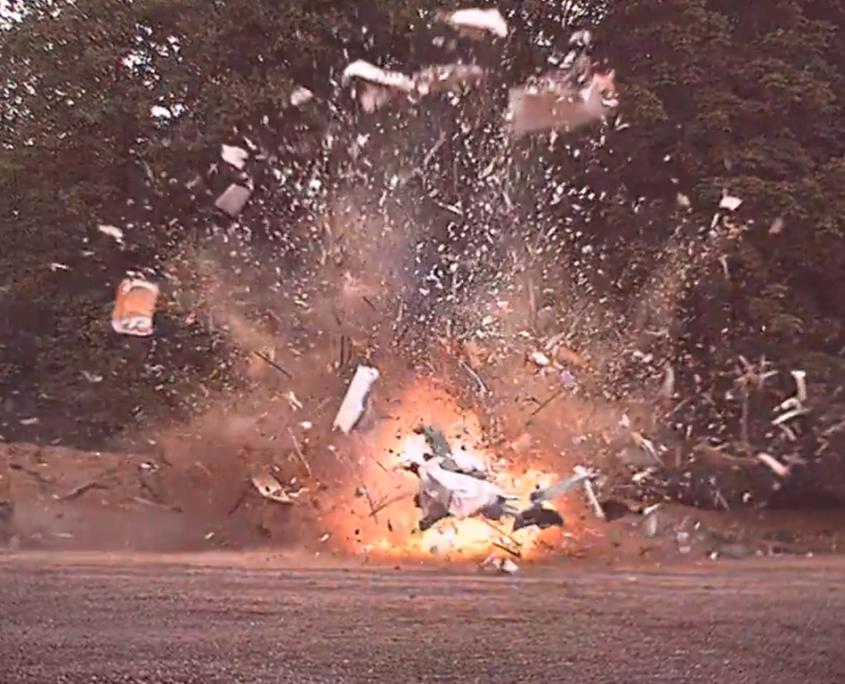 Highspeed-Video_Caravan Explosion
