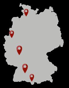 viZaar Standorte Deutschland