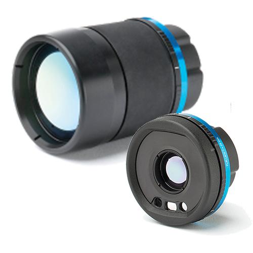 Wechselobjektive für Infrarot Wärmebildkamera FLIR E96