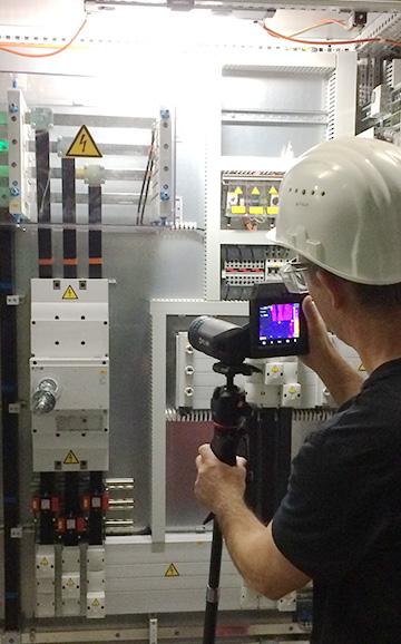 Anwendungsbereiche-Elektrothermografie