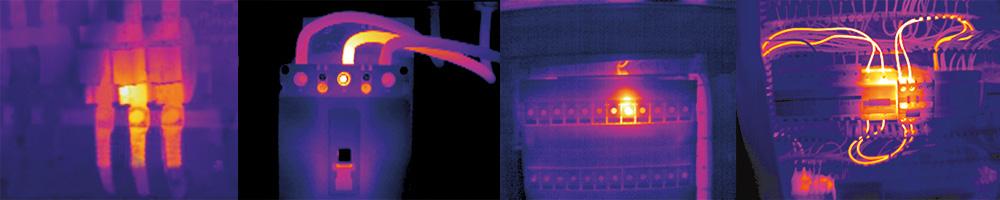 Elektrothermografie-verschiedene-Aufnahmen