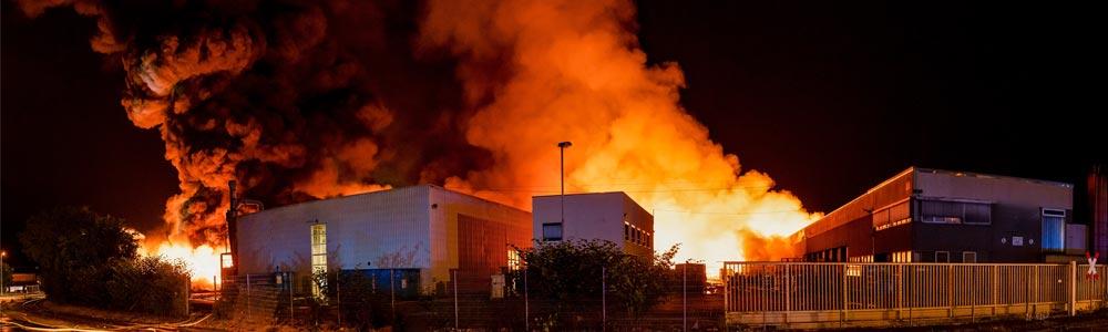 Industriethermografie gegen Industriebrand